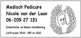 Medisch Pedicure Nicole van der Laan